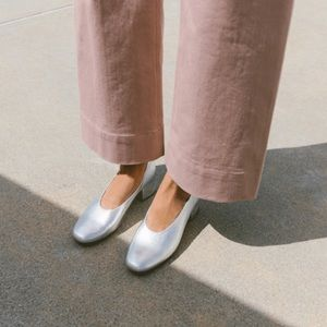 Loeffler Randall | leather low block heel